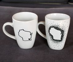mugs make a statement DIY Sharpie mugs are quick, cheap and fun to make. They also make great customized gifts.DIY Sharpie mugs are quick, cheap and fun to make. They also make great customized gifts. Personalized Coffee Mugs, Unique Coffee Mugs, Funny Coffee Mugs, Customised Mugs, Custom Mugs, Customized Gifts, Best Friend Mug, Friend Mugs, Sharpie Crafts