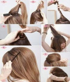 penteados fáceis de fazer sozinha com cabelo solto