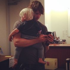 Eric Christian Olsen and Wyatt