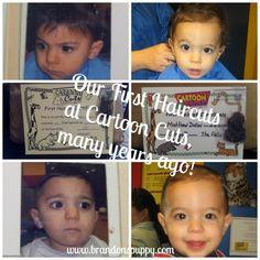First Haircuts at Cartoon Cuts!