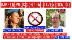 Hol Dir Deinen Platz für Impfen Pro & Contra, die LIVE & GRATIS Konferenz mit Alexander Gottwald & Heilpraktiker Stefan Kraft. http://webinarjam.net/webinar/go/254/75079a33b4  Impfgeschichte, Impfkritik und natürlich auch die Diagnose sowie Behandlung von Impfschäden aus Sicht der Energiearbeit und der Naturheilkunde werden Thema sein.  http://alexandergottwald.com/impfen-pro-contra-heilpraktiker-stefan-kraft-live-gratis