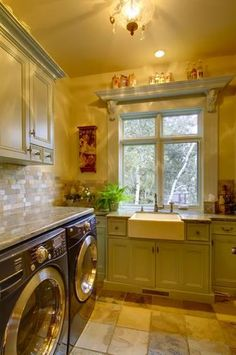 Dreamy laundry room