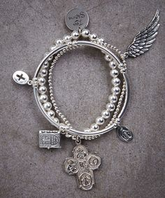 Faith II Trio of Bracelets – Zen Sisters Jewelry