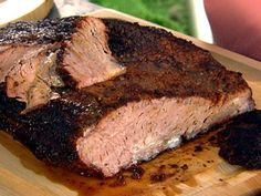 Rub was good, but way too much for a lb brisket! Paula Deen's Texas Brisket--got a new smoker, dying to try it! Roast Beef Receta, Oven Roasted Beef Brisket Recipe, Oven Roast Beef, Beef Brisket Recipes, Grilling Recipes, Meat Recipes, Beef Brisket Oven, Cooking Brisket, Bbq Beef