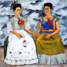 Le due Frida (1939); Frida Kahlo