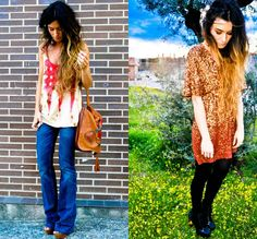 Hippie Rocker Style | Labels: fashion blogger . Inspiration . street style