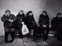 Luisón: Street Photography in BW. Roma (7). February 2015