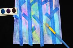 Water color painting the birch tree paintinghttp://www.theeducatorsspinonit.com/2015/01/easy-birch-tree-painting-with-kids.html