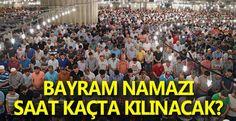 Siverek İçin Ramazan Bayramı namaz saati