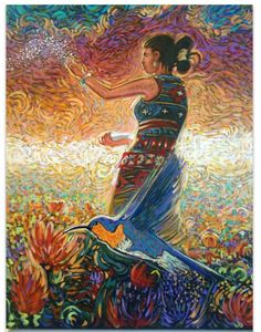 Pollen blessings ~ Shonto Begay