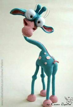 Crocheters Anonymous: Giraffe George from Little Owls Hut: http://bit.ly/1mCUdrW #crochet #amigurumi #pattern