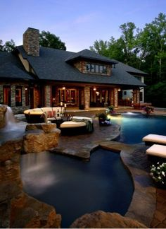 pool - Charlotte Custom Homes