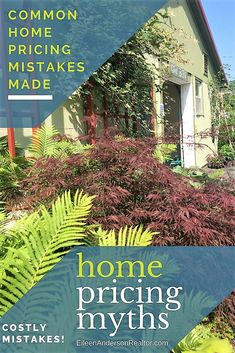 home pricing mistakes, home sales, myths of home pricing, real estate home sales, price to sell, how to price home to sell