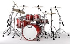 Be the drummer. Pearl Drums, How To Play Drums, Music Aesthetic, Snare Drum, Drum Kits, Music Stuff, Musical Instruments, Acoustic, Pearls