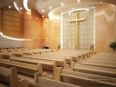 :: 환영합니다... :: Church Interior Design, Interior Window Trim, Church Stage Design, Church Architecture, Religious Architecture, Interior Architecture, Auditorium Design, Three Bedroom House Plan, Altar Design