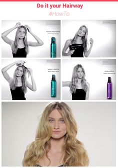 Messy Wavy hair using Kerastase Couture Styling products:  http://goo.gl/RQs3dR