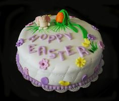 Easter theme Cake.