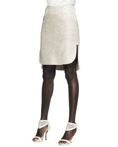 Tweed+Patch-Pocket+Pencil+Skirt+by+Nina+Ricci+at+Neiman+Marcus+Last+Call.
