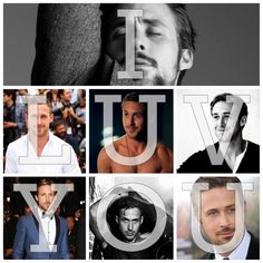 Ryan. Gosling. #speechless