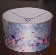 This week (25-31.7.16) LIGHTING! 'Ondine 2' is a large silk drum lampshade adorned with a beautiful print of a bright magical nature scene with fluffy dandelions, vivd birds, pretty flowers, and delicate dragonflies and butterflies. Designed by French textile designer Celine Chassary (ChaCha by Iris).  (£165)