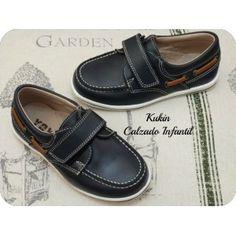 calzado infantil - náutico azul marino niño - zapatos niño