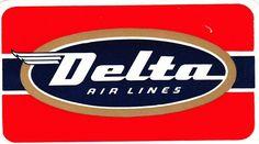 Delta Airlines DC-8 logo
