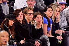 Back on?The Walking Dead star brought along his ex-girlfriend - and perhaps on again girl...
