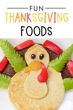 Super fun food ideas for kids for Thanksgiving #thanksgiving #forkids Fun Food, Good Food, Breakfast Appetizers, Best Turkey, Dating Divas, Holiday Traditions, Thanksgiving Ideas, Creative Food, Fall Halloween