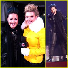 Watch Demi Lovato ring in 2014 with Entertainment Tonight Canada in Niagara Falls! Demi Lovato Pictures, Just Jared Jr, Entertainment Tonight, Celebs, Celebrities, Woman Crush, New Years Eve, Celebrity Pictures, Selena Gomez