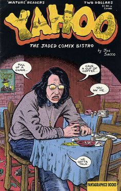 Yahoo the Jaded Comix Bistro Joe Sacco 1998