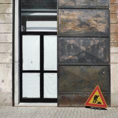 Door in Zona Tortona. My Design Week in Milan April 2014. /Jesper Ståhl.