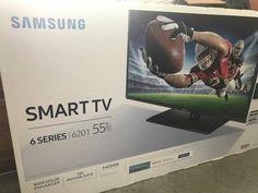 """US-Deals TV New in Box Samsung 55"""" Class FHD (1080P) Smart LED TV (UN55J6201): $260.00 (3 Bids) End Date: Thursday Apr-12-2018…%#USDeals%"""