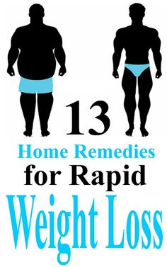 Top 13 Home Remedies For Rapid Weight Loss | Styles Rage