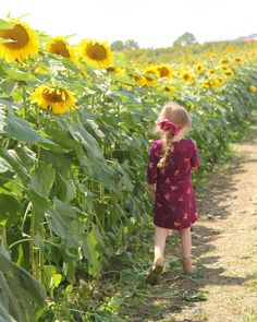 A short summary of our visit: The sunflowers were pretty. The kids were naughty. Couldn't imagine it any other way. :)