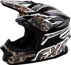 FXR Racing - 2015 Snowmobile Apparel - Blade Helmet - Realtree™Xtra Matte