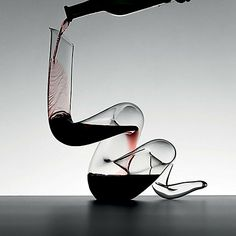 Can't wait to serve a red wine with this. Riedel Boa Decanter at Wine Enthusiast - $495.00