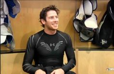 I want to live in a land where James Neal wears black spandex all day long....