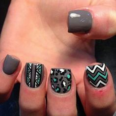 .I like the cheveron nail the best