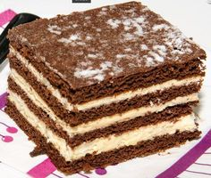 Hungarian Desserts, Hungarian Cake, Hungarian Recipes, Cookie Recipes, Dessert Recipes, French Patisserie, Sweet And Salty, Creative Food, Cake Cookies