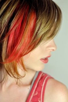 Flaming Red Hair Chalk - Hair Chalking Pastels - Temporary Hair Color - Salon Grade - 1 Large Stick