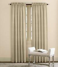 Weaver's Cloth Rod Pocket Curtains