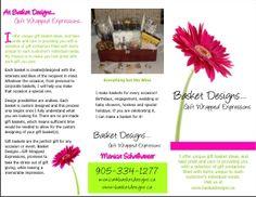 Basket Designs Brochure