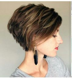 Hairstyles Womens, Hairstyles Daily, Hairstyles For Short Hair, Layered Hairstyles, Woman Hairstyles, Growing Out Pixie Hairstyles, Short Haircut For Fine ...