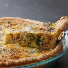Sausage Veggie Quiche