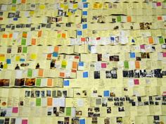 Lots of post-its