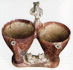 Hititte,spice, Kültepe (Tahsin Özgüç) (Erdinç Bakla archive) Ceramic Clay, Porcelain Ceramics, Ancient Art, Ancient Egypt, Prehistory, Archaeology, Utensils, Terracotta, Egyptian