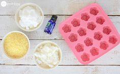 Make Your Own Mini Lavender Lotion Bars For Dry Skin · One Good Thing by JilleePinterestFacebookPinterestFacebookPrintFriendly