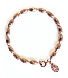 Charleston Rice Bead Bracelet (rose gold)  from Candy Shop Vintage
