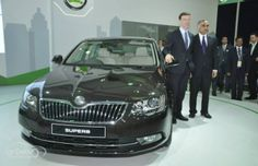 2014 Skoda Superb Facelift to launch on February 10 ! Sales And Marketing, Product Launch, Bike, Car, February 10, India, News, Management, Concept
