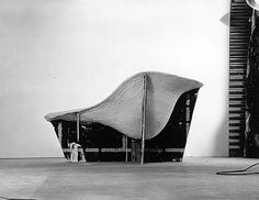 Eames, Ray & Charles - Mesh Structure and Mold for La Chaise
